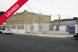 Leased commercial property Harbor City, CA