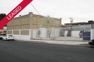 Harbor City commerical property - leased