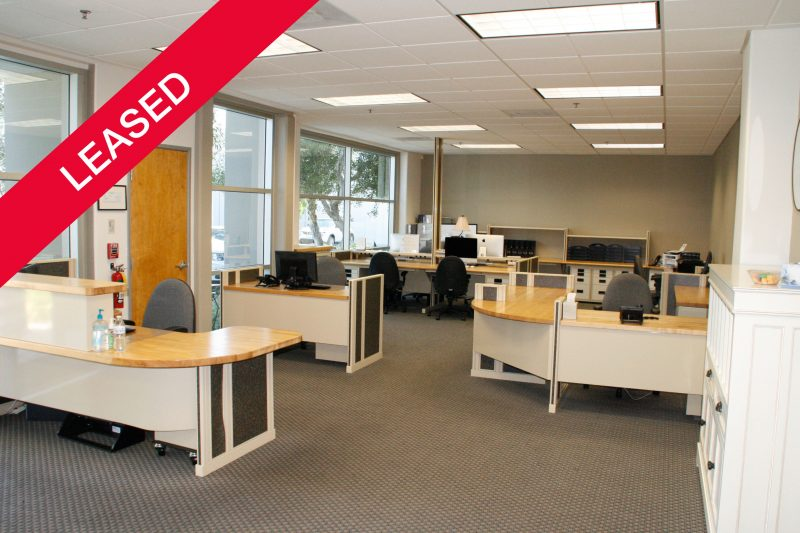 Office at 2824 Columbia Leased