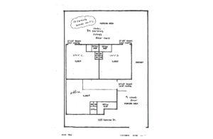 3135 Kashiwa Street site plan