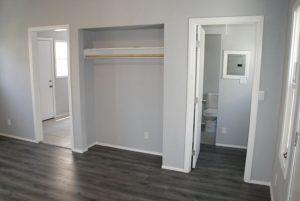 Interior of apartment in Long Beach CA