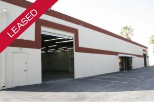 Leased Warehouse in Torrance CA
