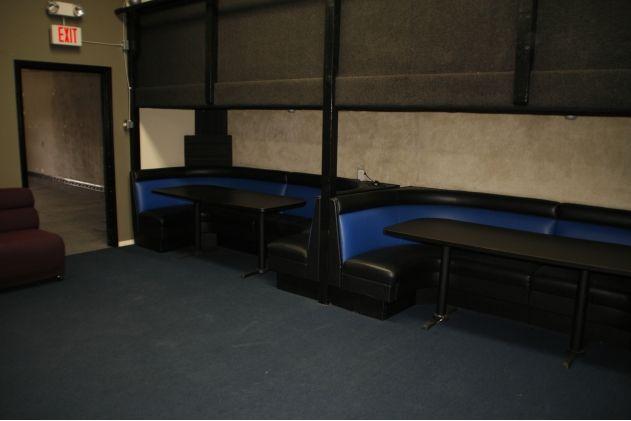 Seating in Torrance Recording Studio