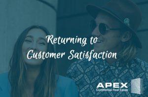 Returning to customer satisfaction