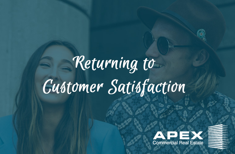 Returning to customer satisfaction
